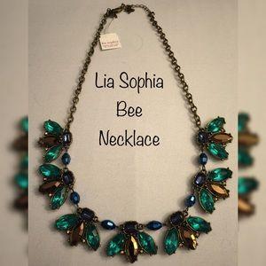 Lia Sophia Bee Statement Necklace Color Pop NWT